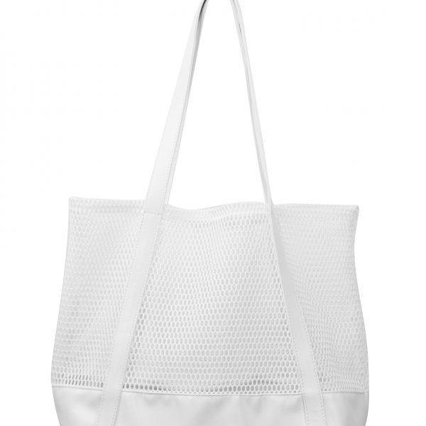 Sunescape White Mesh Beach Bag 01 white